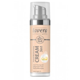 Lavera Tinted Moisturising Cream 3in1 Q10 - Ivory Light 01 30 ml / 1.0 fl oz