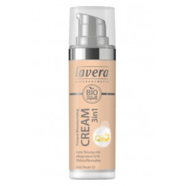 Lavera Tinted Moisturising Cream 3in1 Q10 - Ivory Nude 02 30 ml / 1.0 fl oz