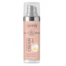 Lavera Tinted Moisturising Cream 3in1 Q10 - Ivory Rose 00 30 ml / 1.0 fl oz