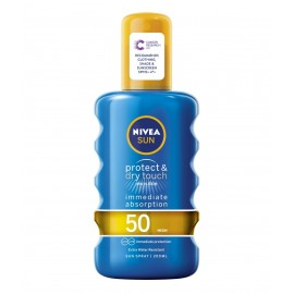 Nivea Sun Protect & Dry Touch Invisible Sun Spray SPF 50 200 ml / 6.8 fl oz