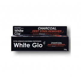 White Glo Charcoal Deep Stain Remover Whitening Toothpaste 24 g / 19 ml / 0.63 fl oz
