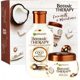 Garnier Botanic Therapy Coco Milk & Macadamia Shampoo 250 ml / 8.4 fl oz + Hair Mask 300 ml / 10 oz