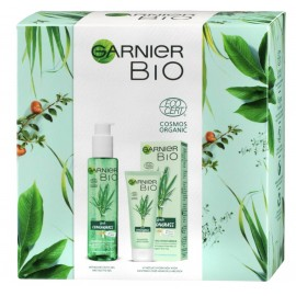 Garnier Bio Fresh Lemongrass Balancing Moisturizer 50 ml / 1.7 fl oz + Purifying Gel Wash 150 ml / 5.0 fl oz