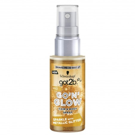Schwarzkopf got2b Go'N'Glow Gold Hair & Body Spray 50 ml / 1.7 fl oz