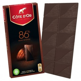 Cote D'Or 86% Noir intense Chocolate 100 g / 3.4 oz