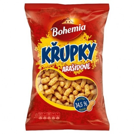 Bohemia Arasidove Krupky / Peanut Puffs 200 g / 6.8 oz