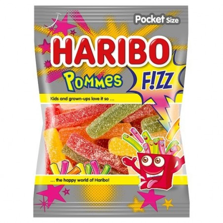 Haribo Pommes Fizz 100 g / 3.4 oz