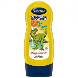 Bübchen Mega Dinosaur Shampoo & Shower Gel 230 ml / 7.7 fl oz