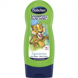 Bübchen Tiger Wash Shampoo & Shower Gel 230 ml / 7.7 fl oz