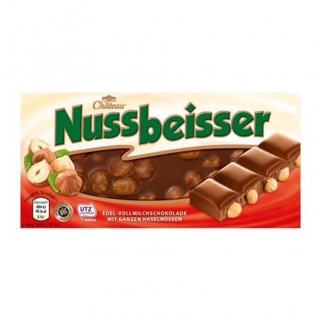 Chateau Nussbeisser Milk Chocolate with Whole Hazelnuts 100 g / 3.4 oz
