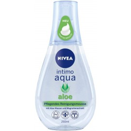 Nivea Intimo Aqua Aloe Nourishing Cleansing Mousse 250 ml / 8.3 fl oz…