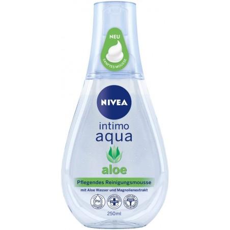 Nivea Intimo Aqua Aloe Nourishing Cleansing Mousse 250 ml / 8.3 fl oz