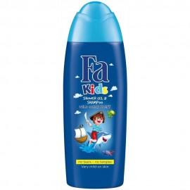 Fa Men Kids Wild Ocean Shower Gel & Shampoo 250 ml / 8.3 fl oz