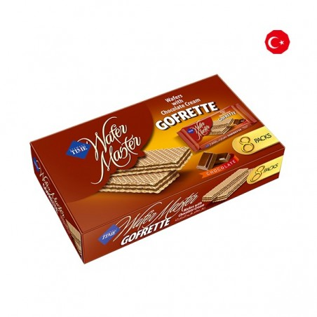 Cizmeci Time Wafer Master Gorfette Chocolate 320 g