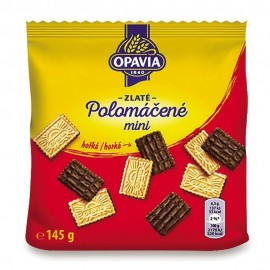 Opavia Zlate Polomacene Mini Bitter Wafers 145 g