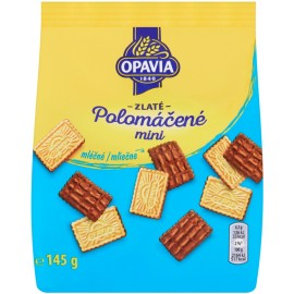 Opavia Zlate Polomacene Mini Milk Wafers 145 g