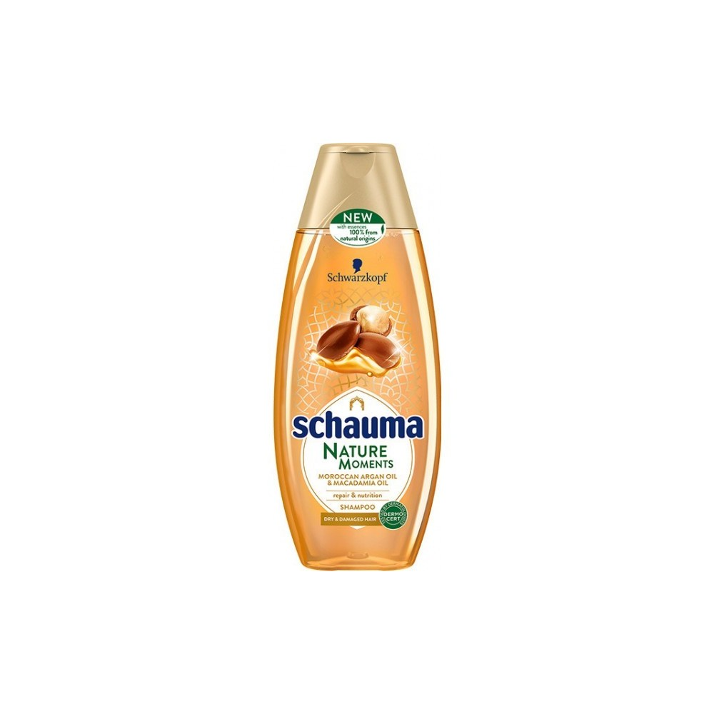 Schwarzkopf Schauma Nature Moments Argan Oil & Macadamia Oil Shampoo 250 ml / 8.4 fl oz
