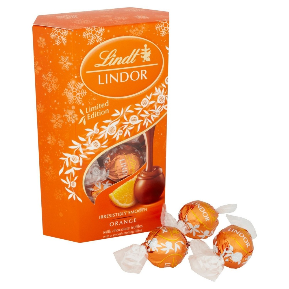 Lindt Lindor Orange 200 g / 7.2 oz