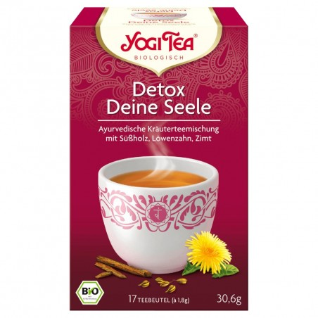 Yogi Tea Detox Deine Seele Tee Bio 30.6 g / 17 tea bags