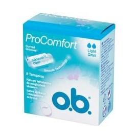 o.b. ProComfort Light Days Tampons (8pcs)