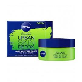 Nivea Essentials Urban Skin Detox Night Gel Cream 50 ml / 1.7 oz