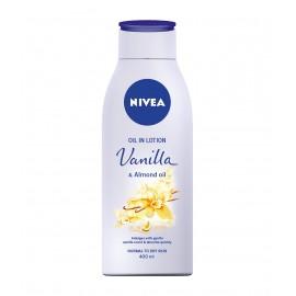 Nivea Vanilla & Almond Oil Oil In Body Lotion 400 ml / 13.4 fl oz