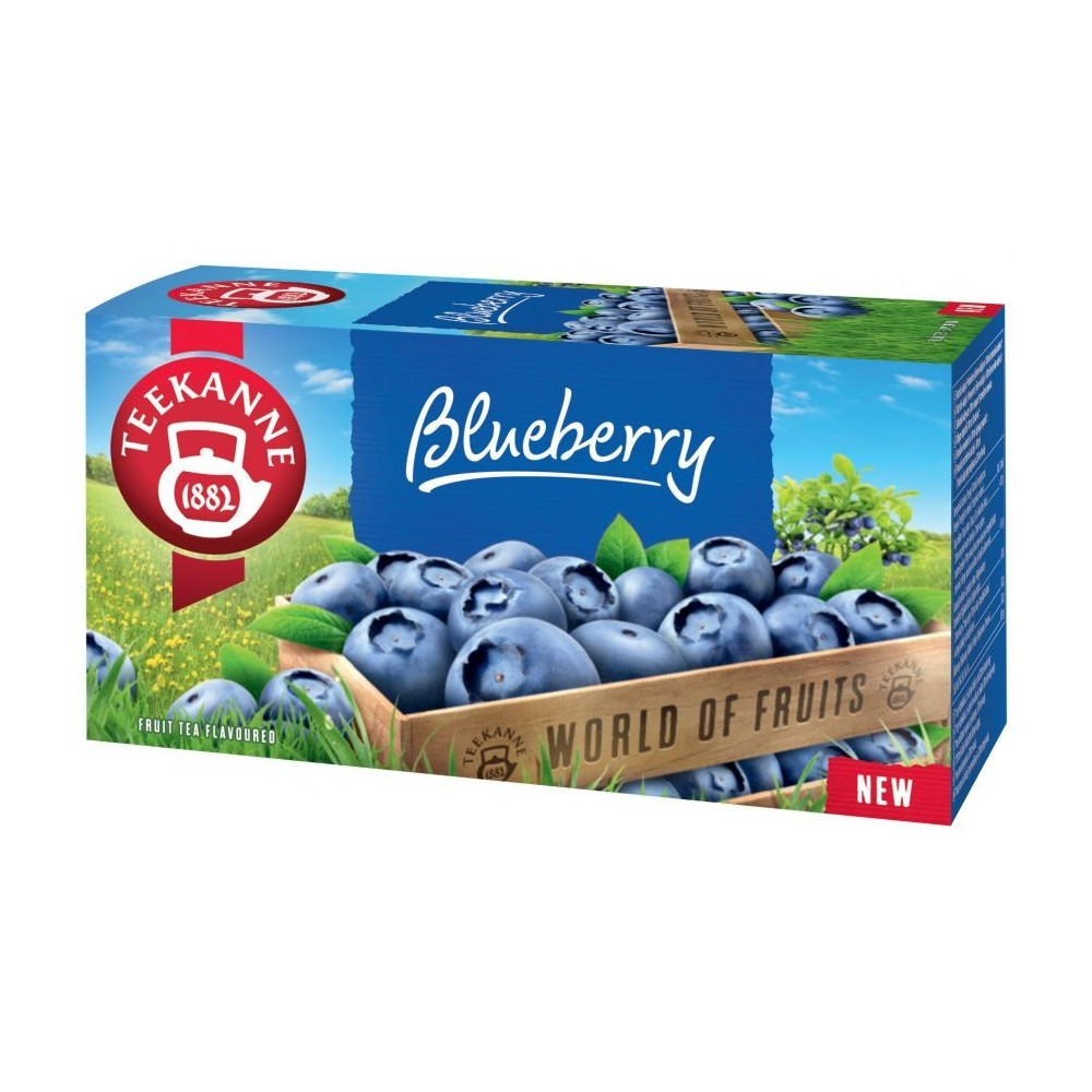 Teekanne Blueberry