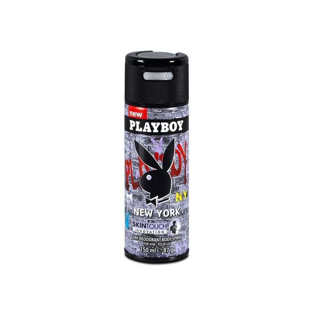 Playboy New York Deodorant Body Spray 150 ml / 5 fl oz