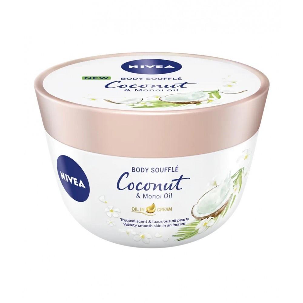 Nivea Body Souffle Coconut & Monoi Oil 200 ml / 6.8 fl oz