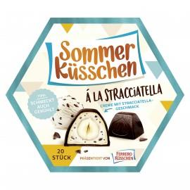 Ferrero Sommer Kusschen / Summer Kisses à la Stracciatella 182 g / 20 pcs