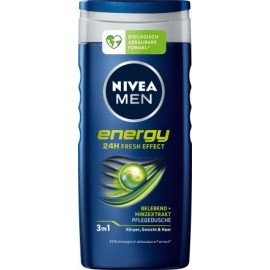 Nivea Men Energy Shower Gel 250 ml / 8.3 fl oz