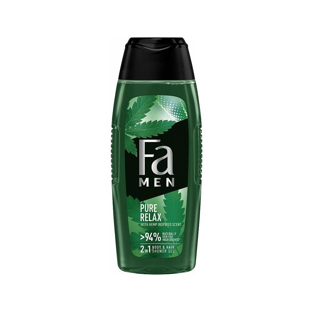 Fa Men Pure Relax Body & Hair Shower Gel 250 ml / 8.3 fl oz