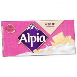 Alpia white chocolate 100g