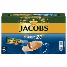 Jacobs coffee specialties 2 in 1, 10 sticks with instant coffee