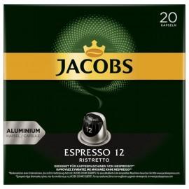 Jacobs coffee capsules Espresso 12 ristretto 104g, 20 Nespresso compatible capsules