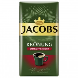 Jacobs filter coffee coronation decaffeinated 500g