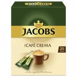 Jacobs instant coffee café crema, 25 instant coffee sticks