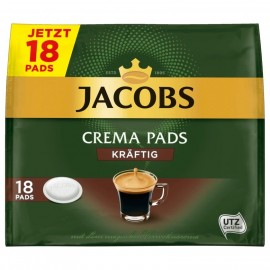 Jacobs Crema Pads Heavy 118g, 18 pads