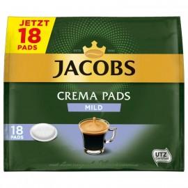Jacobs Crema Pads Mild 118g, 18 Pads