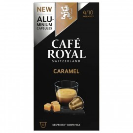Café Royal caramel coffee capsules 10 pieces