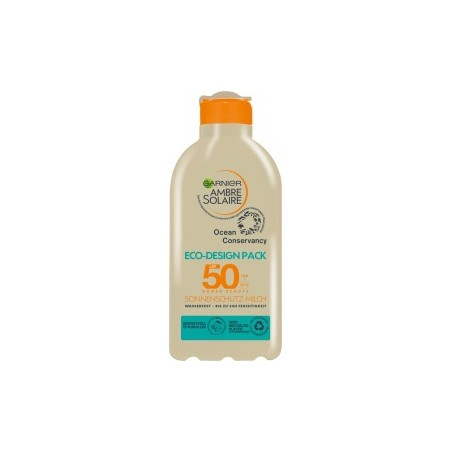 Garnier Ambre Solaire Sun milk ocean eco design SPF 50, 200 ml