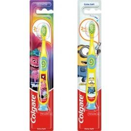 Colgate Toothbrush children Minions / Trolls, 2 to 6 years, 1 pc
