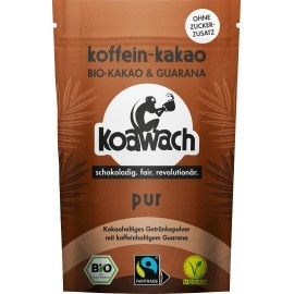 koawach Cocoa powder, pure with guarana, sugar-free, 100 g