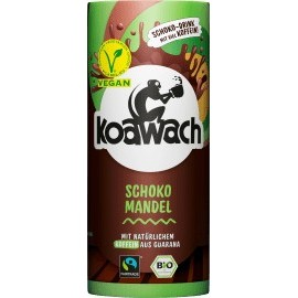 koawach Chocolate drink, cocoa & guarana with chocolate & almond, vegan, 235 ml