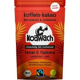 koawach Cocoa powder, fire + flame dark chilli, 100 g