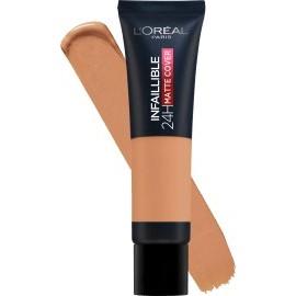 L'ORÉAL PARIS Make-up Infaillible 24H Matte Cover 260 Soleil Dore / Golden Sun, 30 ml