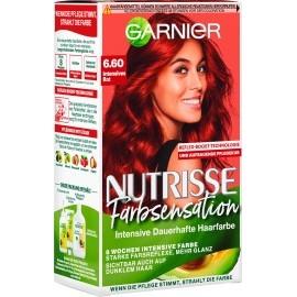 Nutrisse Hair color color sensation intense red 6.60, 1 pc