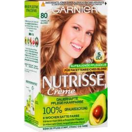 Garnier Nutrisse Hair color Vanilla Blond 80, 1 pc