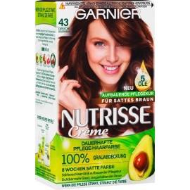 Garnier Nutrisse Hair color golden brown - cappuccino 43, 1 pc