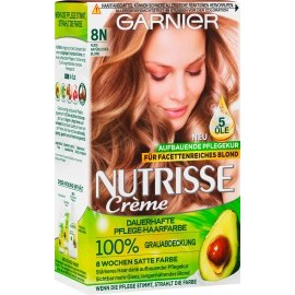 Garnier Nutrisse Hair color Nude natural blond 8N, 1 pc